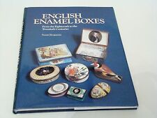 English Enamel Boxes Book by Susan Benjamin