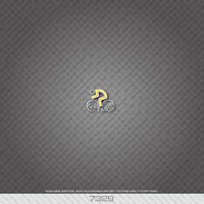 07329 Battaglin Bicycle Head Badge Sticker - Decal - Transfer