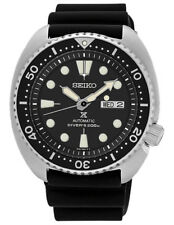 Seiko Watch Prospex Turtle Automatic Diver's Black Mens SRP777K1