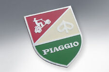 Vespa Rider Badge Shield Italian Colours