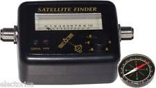 SATELLITE FINDER DIGITAL SIGNAL METER LNB SATELITE DISH For Bell Shaw FTA Telus