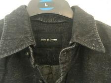 Nom de Guerre brushed cotton shirt dark grey tag size medium made in Japan
