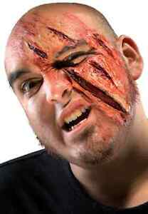 Clawed Scratch Cut Wound Fancy Dress Halloween Costume Makeup Latex Prosthetic