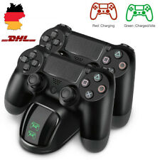 FÜR PS4 Ladestation Wireless Controller Schnellladestation Dual USB Charger DE