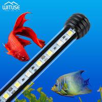 19-48cm LED Aquarium Fish Tank RGB Blue White Lights Bar Submersible Tube Lamp