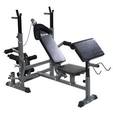 Costway Adjustable Weight Lifting Flat Incline Bench Fitness Strength  Exercise