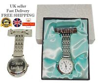 Personalised Nurse Fob Watch Beautician Doctors Vet Midwife Engraved Gift