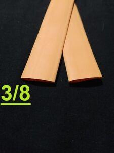 "3/8"" inch 9.5mm ORANGE  2:1 heat shrink tubing polyolefin (1 FOOT)"