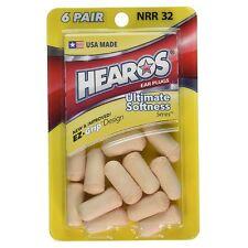 Hearos Ultimate Softness Series Ear Plugs 6 pairs (Pack of 8)