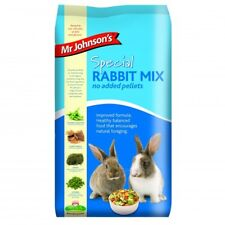 Mr Johnson's Special Rabbit Mix Food Feed No Added Pellets 15kg