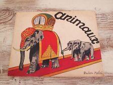 Animaux : Album à colorier, 1945.