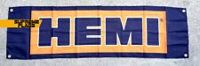 Hemi Flag 3 X 5 ft Banner Garage Vintage Dodge Car Engine