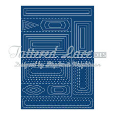 STEPHANIE WEIGHTMAN Tattered Lace SHAPED CARD Dies SIDE STEPPER 35 Dies SC01
