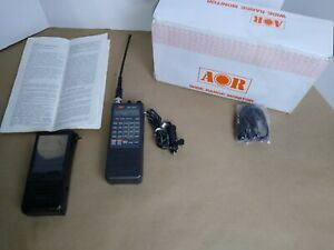 Vintage AOR AR1000 Handheld VH F UHF Scanner Receiver in Box. U