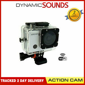 Action Camera AC53 Extreme Plus Full HD 170 Degree Lens Camera Silver