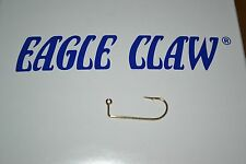 EAGLE CLAW 575 GOLD JIG HOOK #4 100 PER PACK CRAPPIE DO IT MOLDS JIG HEADS
