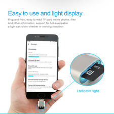 Mini Size Micro USB OTG TF Micro SD Card Reader Adapter For Android Phones