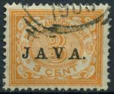 Netherlands Indies 1908 SG#146, 3c Optd With Java Used #E12168