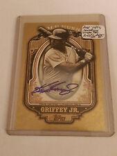 2012 Topps Gold Rush Wrapper Redemption Autographs #53 Ken Griffey Jr. 5/25