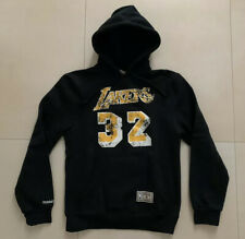 Los Angeles Lakers Hoodie Pullover Mitchell & Ness Gr. S Magic Johnson NBA