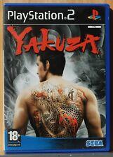 YAKUZA - PLAYSTATION 2 - PAL ESPAÑA - COMPLETO