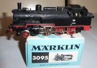 Märklin 3095 Dampflok BR 74 1070 der DB Epoche 3 sehr gut erhalten in OVP 01/68