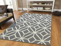Gray Rugs 8x10 Contemporary Diamond Patterned Moroccan Geometric Grey Area Rug 5