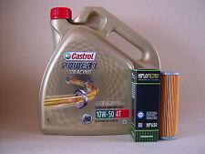 Castrol Power 1 Carreras 10w50 ACEITE + Filtro de KTM 1050 1190 rc8 rc8r