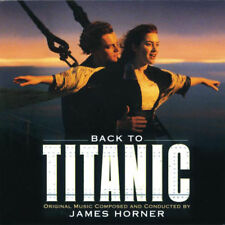 BACK TO TITANIC ORIGINAL SOUNDTRACK NEW LIMITED COLOURED VINYL 2LP IN STOCK