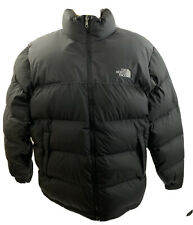 The North Face Mens Vintage Nuptse XL Goose Down Puffer 700 Black Coat Jacket