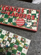Vintage Snakes And Ladders Spears