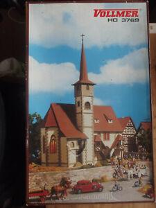 Vollmer 3769 Kirche Ditzingen Bausatz H0