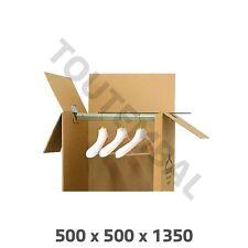 Carton penderie 500 x 500 x 1350 mm