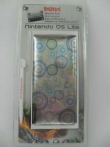 Redbeard Metallic  Skins for Nintendo Ds Lite includes Stylus Pen - Brand New