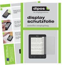 2x TrekStor eBook Reader Pyrus Protector de Pantalla protectores mate dipos