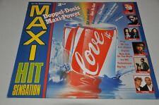 VA Sampler - Maxi Hit Sensation - 80er - Doppel-Album Vinyl Schallplatte 2LP