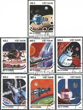 Vietnam 1950-1956 (complete issue) used 1988 Models of space ve