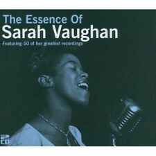 2 CD BOX ESSENCE SARAH VAUGHAN NATURE BOY IT'S MAGIC I CRIED FOR YOU BLACK COFFE