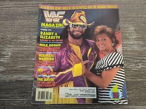 MACHO MAN RANDY SAVAGE/MISS ELIZABETH WWF MAGAZINE Wrestling October 1991 Issue