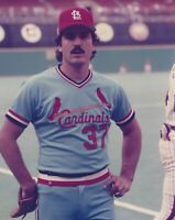 Vintage 8 X 10 Photo of St. Louis Cardinals Keith Hernandez
