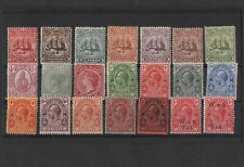21 turks & caicos islands stamps to 3s values