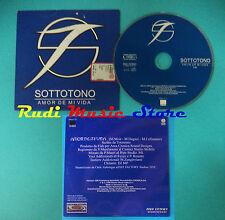 CD Singolo SOTTOTONO Amor De Mi Vida PRO1179 PROMO IT 1999 CARDSLEEVE(S19)