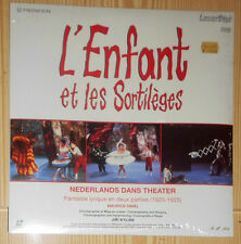 LASER DISC (VIDEO) L'ENFANT ET LES SORTILEGES JIRI KYLIAN (PAL)VERSIEGELT SEALED