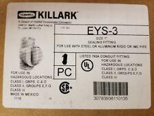 """Killark EYS-3  1"""" Explosion Proof Sealing Fitting (NIB)"""