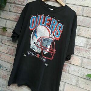Houston oilers shirt men's Unisex Cotton Vintage Reprint S to 3XL TK2309