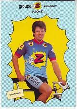 CYCLISME carte cycliste GILBERT GLAUS équipe Z  peugeot 1987
