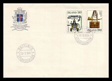Iceland 1979 FDC, Europa CEPT XX. History Posts and Telecommunications. Lot # 6.