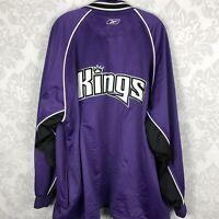 Sacramento Kings Vintage 90's Reebok Basketball Team Jacket Rare Size XL