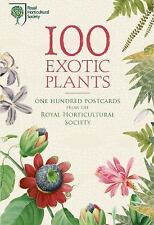 100 Exotic Plants from the Rhs (Postcard Book or Pack)