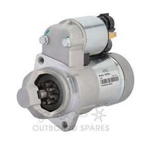Suzuki 9 Tooth Starter Motor for 70hp to 300hp 4 Stroke Outboard (# 31100-93J00)